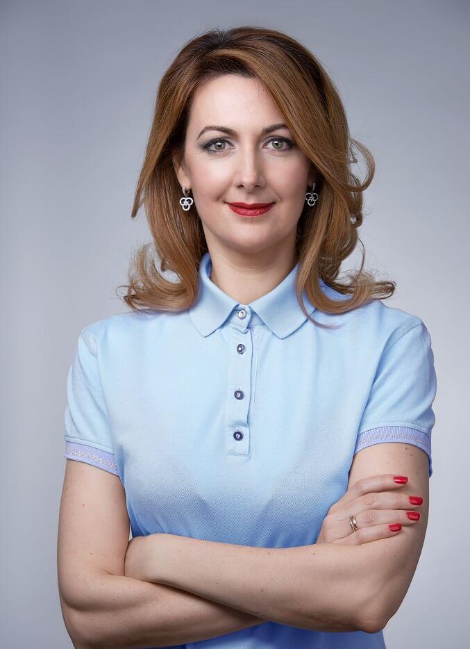 Инесса Галактионова Первый вице-президент по телекоммуникационному бизнесу
